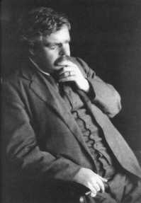 G.K. Chesterton - Date Unknown, Click To Enlarge