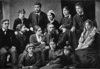 The MacDonald Family - 1876, Click To Enlarge